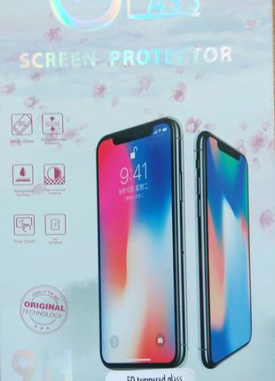 Защитное стекло 5D для iPhone 11 XR- black