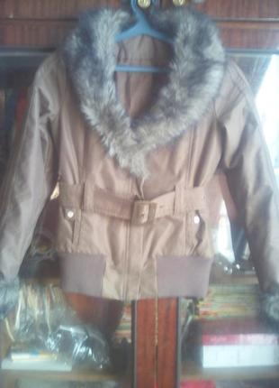 Стильная куртка  евро  зима