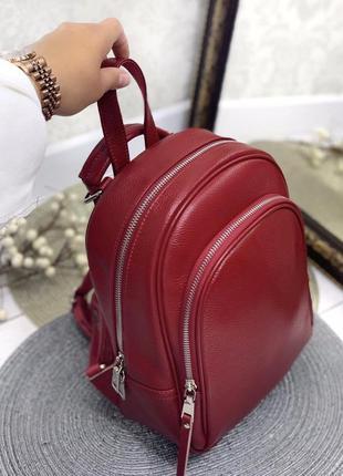 Рюкзак сумка трансформер  кожа
