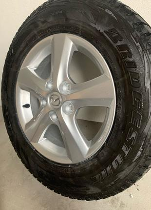 Mazda 3 продам диски-резину R15 205/70