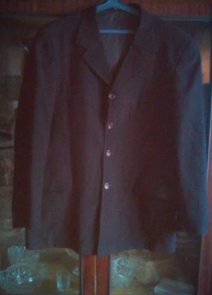 Велюровый пиджак-большого размера