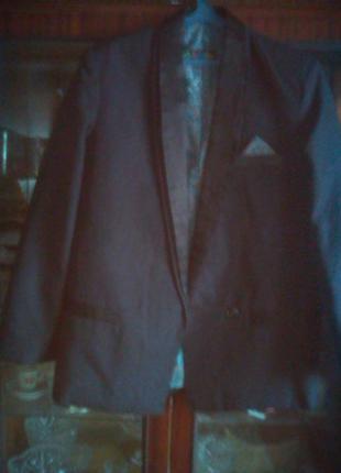 Пиджак на торжество-большого размера-италия