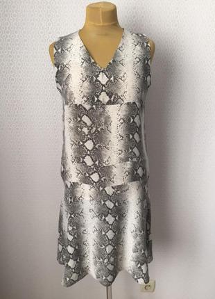 Невесомое шёлковое платье на жаркое лето от toudy (франция), р...