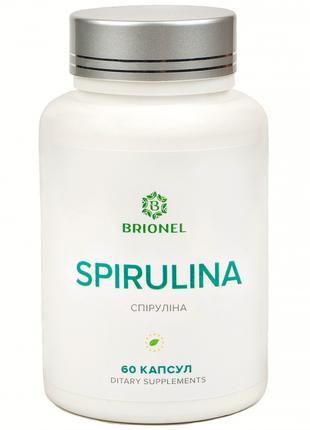 Спирулина, Spirulina Brionel, 60 капсул