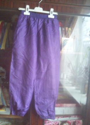 Жатые спортивные штаники с подкладкой-шри-ланка