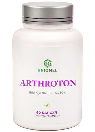 Для суставов, хрящей и костей, Arthroton Brionel, 60 капсул