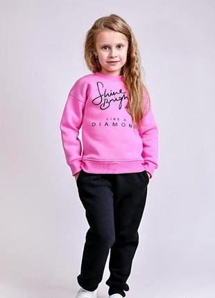 Комплект для девочек, розовый