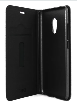 Чехол-книжка Gio Case Black для Meizu Pro 6