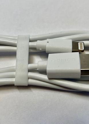Оригинальные lightning-кабели ORICO для iPhone, iPad.