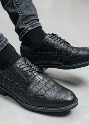 👞 туфли мужские натуральная кожа чёрные 👞