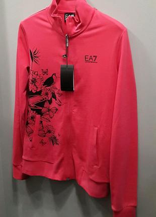 Брендовый женский спортивный костюм Emporio Armani EA7. Оригинал!