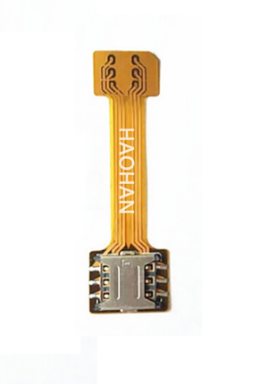Переходник адаптер для 2-х сим sim карт и Micro SD nano sim dual