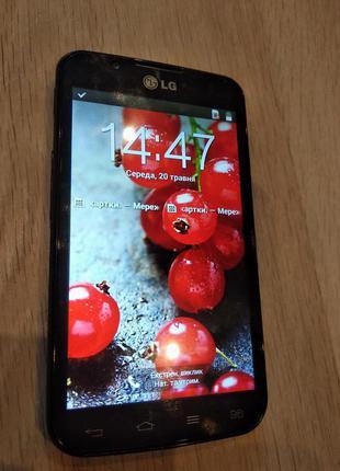 Смартфон LG Optimus L7 II Dual P715 Black