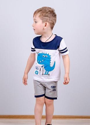 Футболка с шортами для мальчика