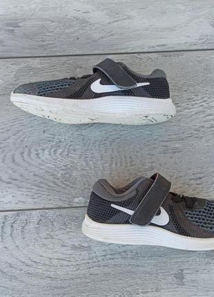 Nike кроссовки детские на липучке унисекс весна