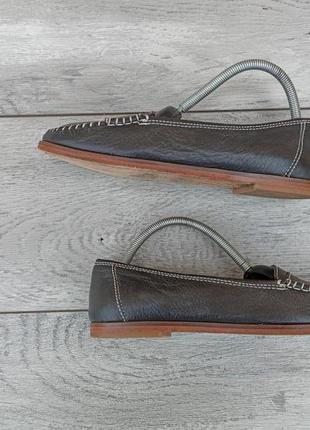 Женские туфли мокасины лоферы кожа оригинал весна