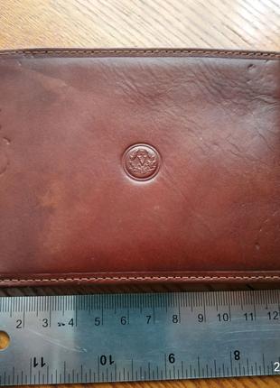 Кошелек vera pelle Italy портмоне под паспорт