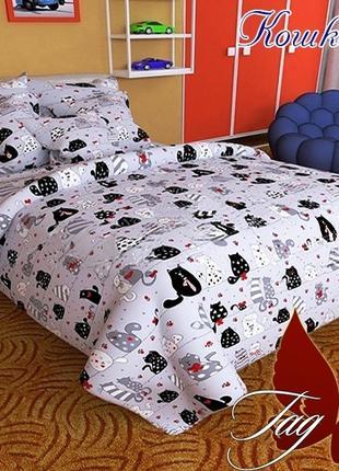 Комплект постельного белья детский  Кошкин дом