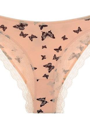 "Трусики женские ""бабочки"", размер s"