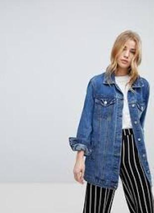 Стильная джинсовка,пиджак,джинсовая куртка,оверсаййз,c&a