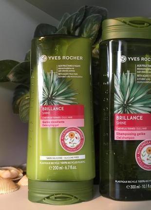 Набор для волос - жизненная сила и блеск ив роше yves rocher