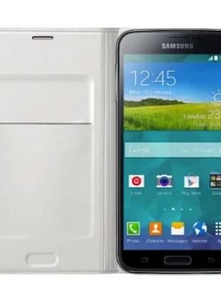 Чехол Samsung Galaxy S5 G900 EF-WG900BWESTA-оригинал!