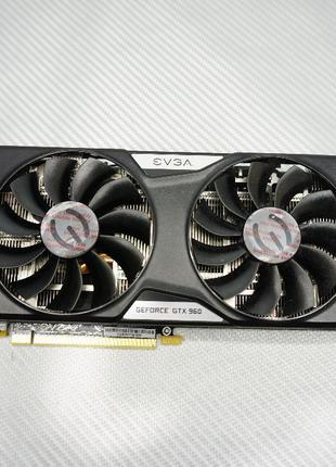 Видеокарта EVGA GTX 960 2GB gddr5 в наличии 1136 гарантия
