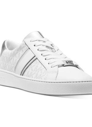 Michael kors irving lace-up sneakers кеды кожа р-р 7, 8 и 9