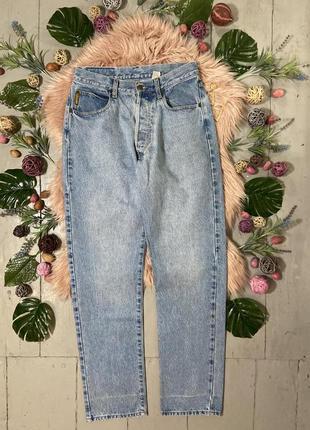 Винтажные плотные джинсы мом №328