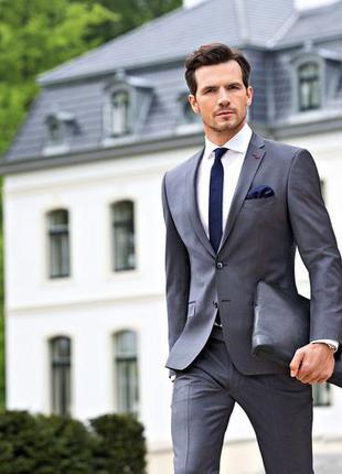 Классический мужской костюм roy robson 48-50 деловой костюм