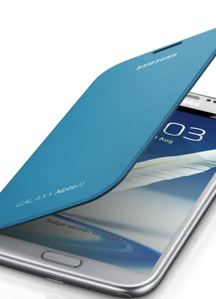Чехол Samsung Galaxy Note 2 EFC-1J9FBEGSTD N7100 Blue