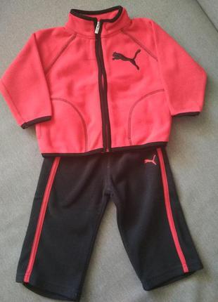 Спортивный детский костюм puma, новый, оригинал сша, размер 12...