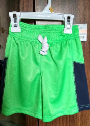 Новые шорты carter's 2т - мальчику, размер 86-92, 2 года