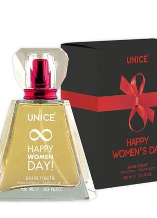 Женская туалетная вода UNICE Happy Women Day Red