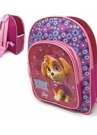 Дошкольный рюкзак paw patrol щенячий патруль скай с передним к...