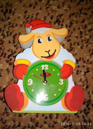 Оригинальные часы - барашек.