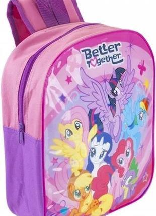 Дошкольный детский рюкзак мой маленький пони my little pony дл...