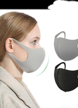 маска антибактериальная антипылевая pitta mask