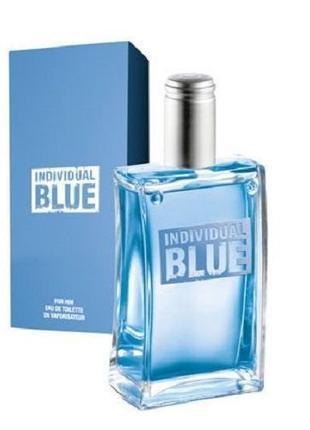 Мужская туалетная вода Individual Blue эйвон