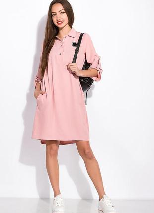 Платье рубашка в стиле casual