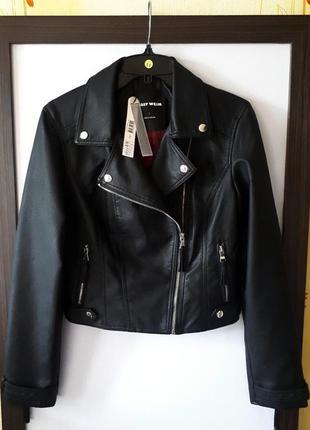 Куртка косуха из искусственной кожи tally weijl