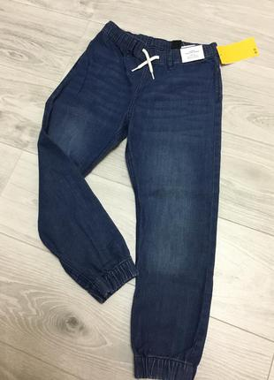Джеггенсы джинсы 134 h&m для мальчика