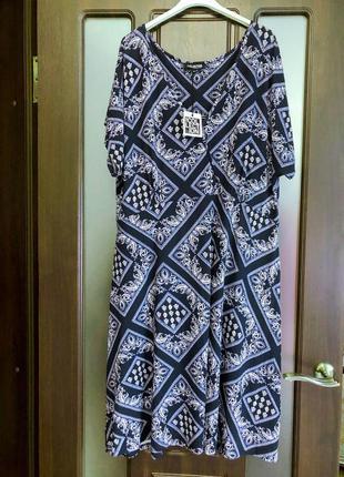 Новое натуральное платье с биркой
