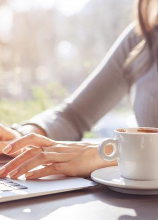 Информационный онлайн менеджер (женщина)