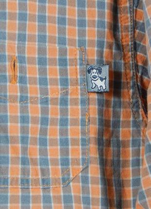 Рубашка с длинным рукавом для мальчика 3-5 лет