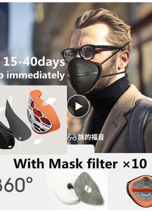 Противовирусная городская маска многоразового использования