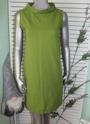 Зеленое платье max mara