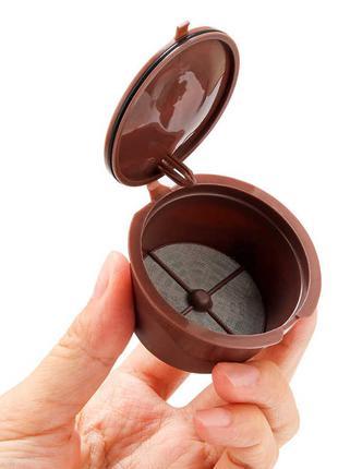 Многоразовые капсулы для кофемашин Nescafe Dolce Gusto Crema