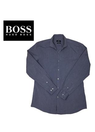Рубашка boss hugo boss slim fit
