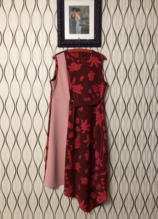 Нарядное асимметричное платье marks&spencer, новое!